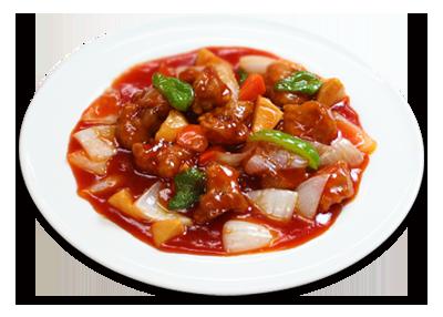 酢豚 酢豚 | 知味斎